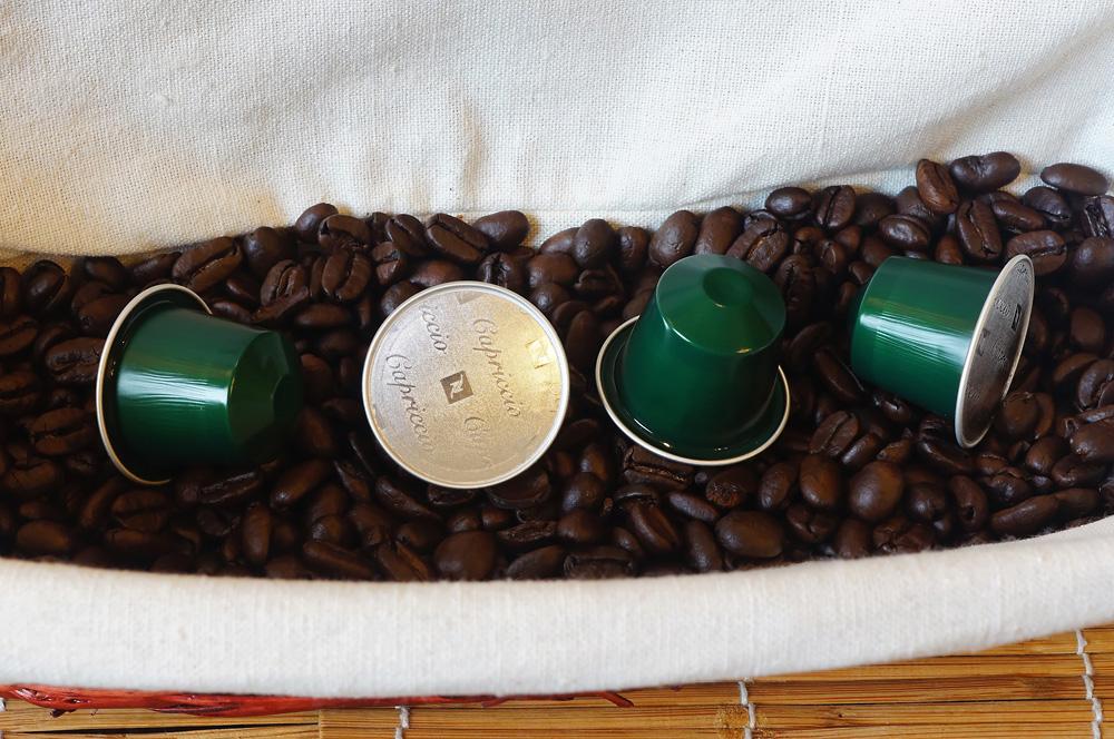 Capriccio coffee capsules by Nespresso