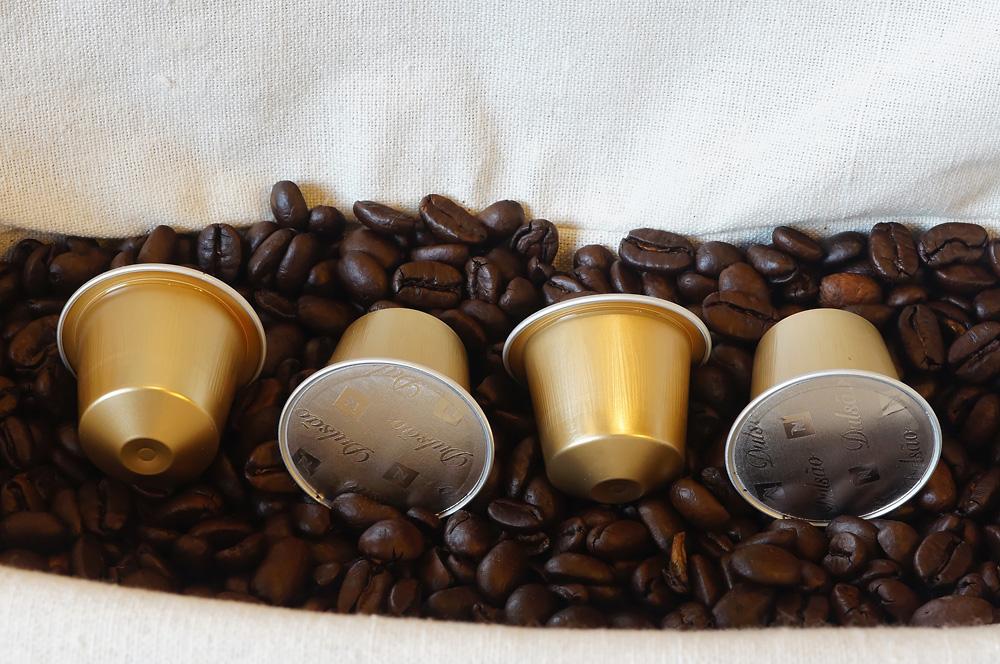 Dulsão do Brasil coffee capsules by Nespresso