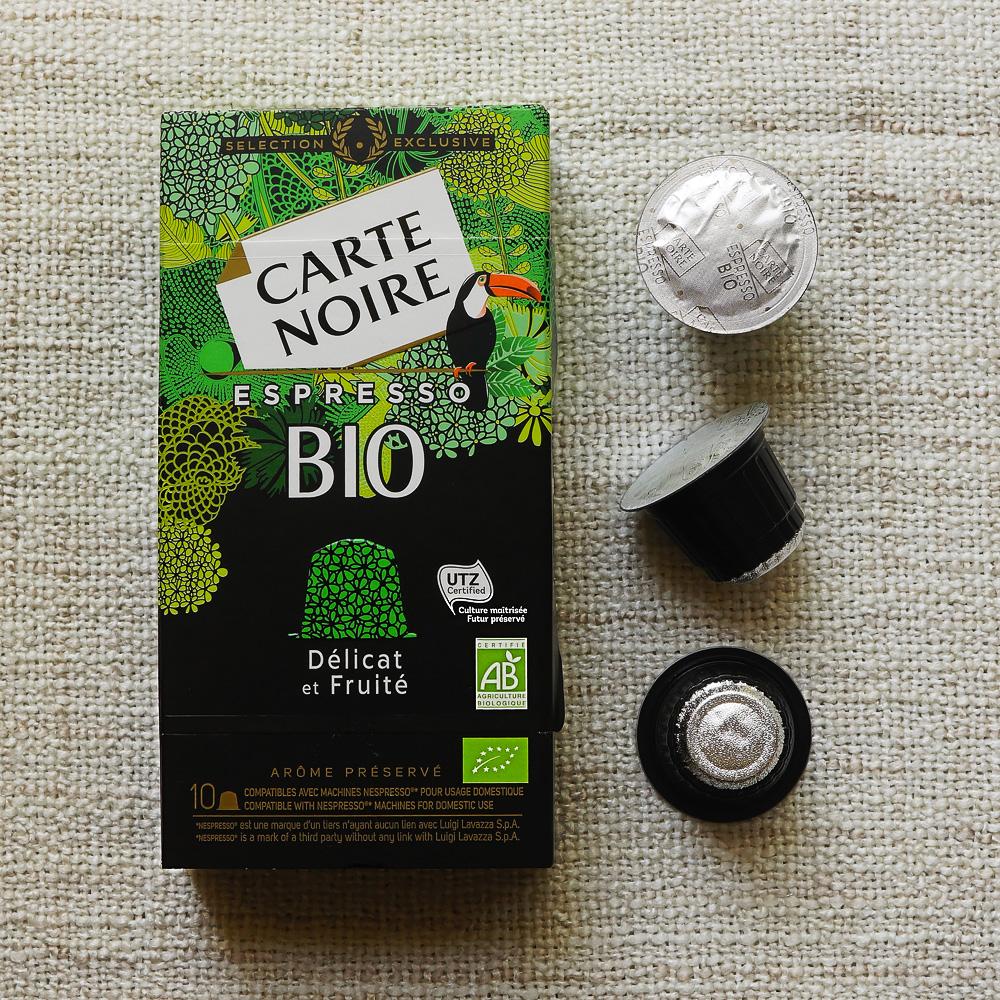 Bio edition from Carte Noire Espresso