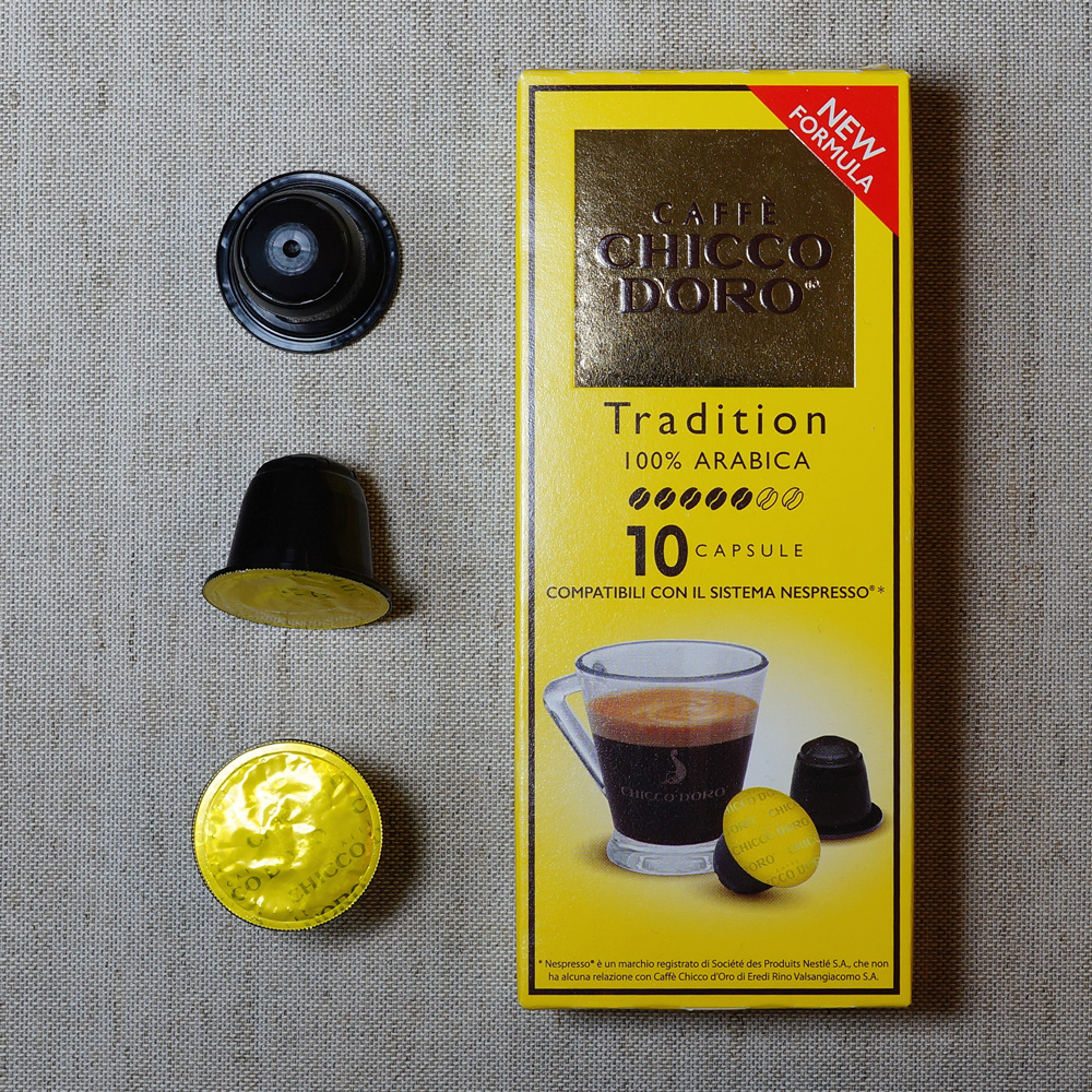 Tradition capsules by Caffé Chicco d'Oro