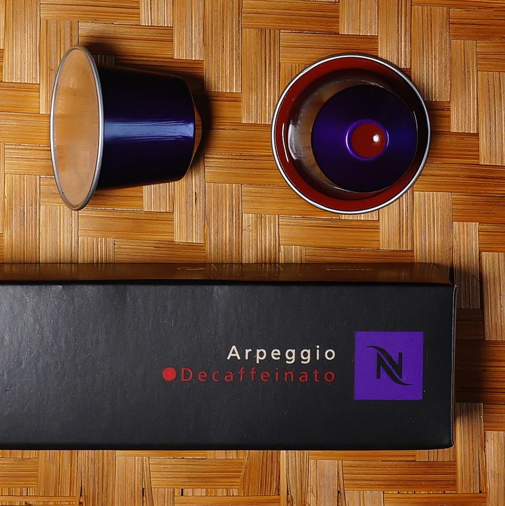Apregio Decaffeinato violet coffee capsules